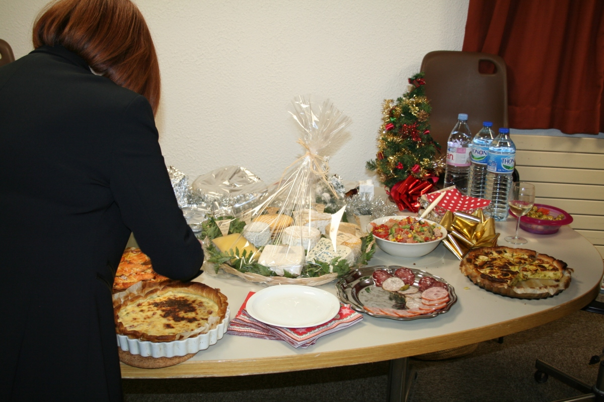 Photo of food provided to the visitors